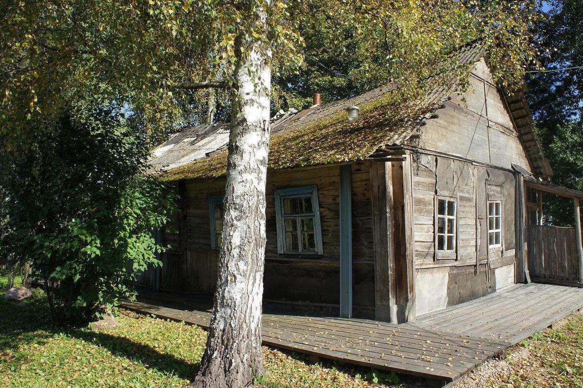 домик в котором жил Довлатов