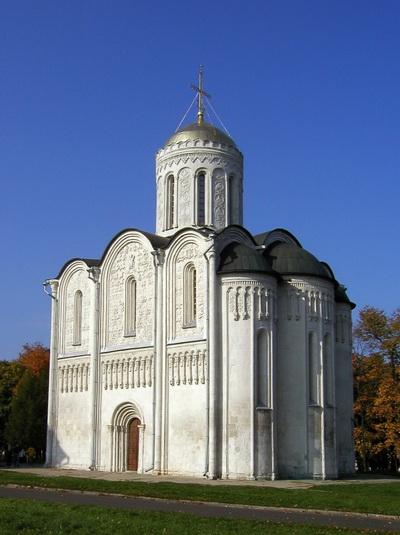 Дмитриевский собор во Владимире (1194–1197 годы). Вид с юго-востока