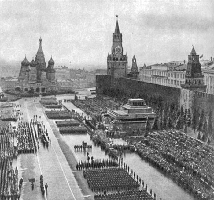 парад 1945 года: